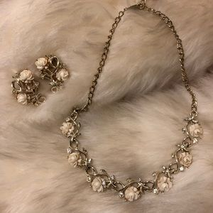 VNTG Emmons jewelry necklace and earrings